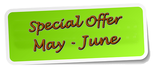Special Offer May June